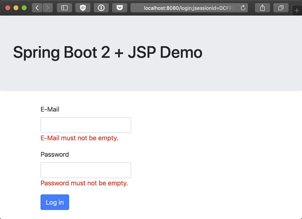 Making JSP work with Spring Boot 2 • htr3n's